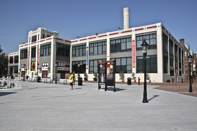 Exterior of the Torpedo Factory Art Center