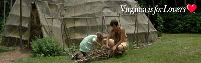 Virginia is for lovers: native american village
