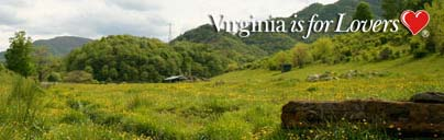 Virginia is for lovers: scenic mountains