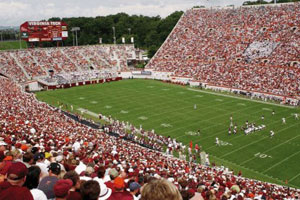 Lane stadium at Virginia Tech
