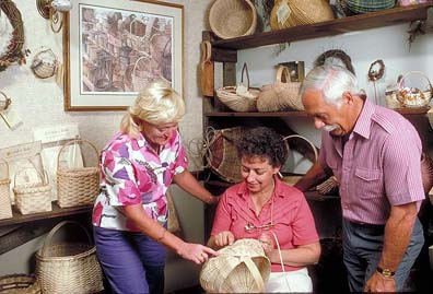 Hand-crafted baskets