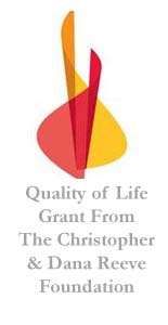 Quality of LIfe Grant from Reeve foundation