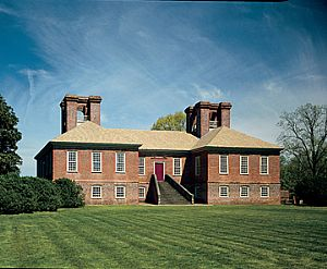 The main house at Stratford Hall